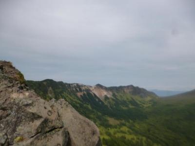 黒斑山 キャバマル