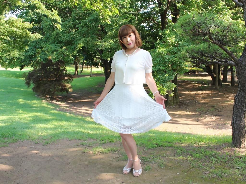 白レースワンピC(6)