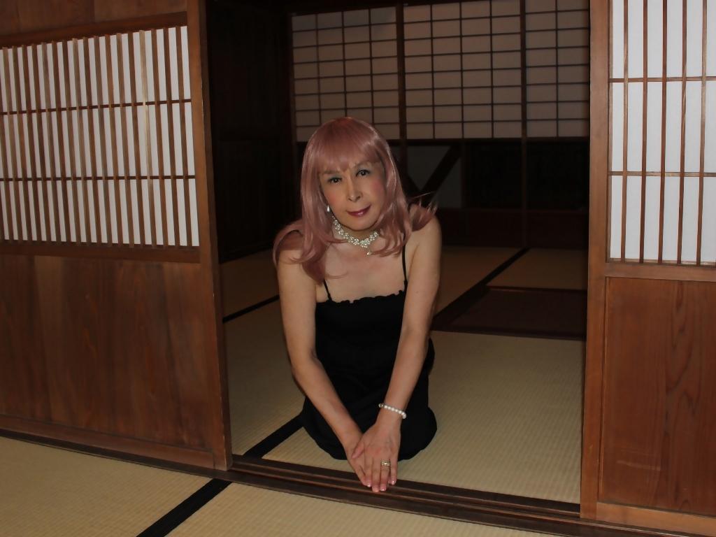 黒のマキシワンピE(4)