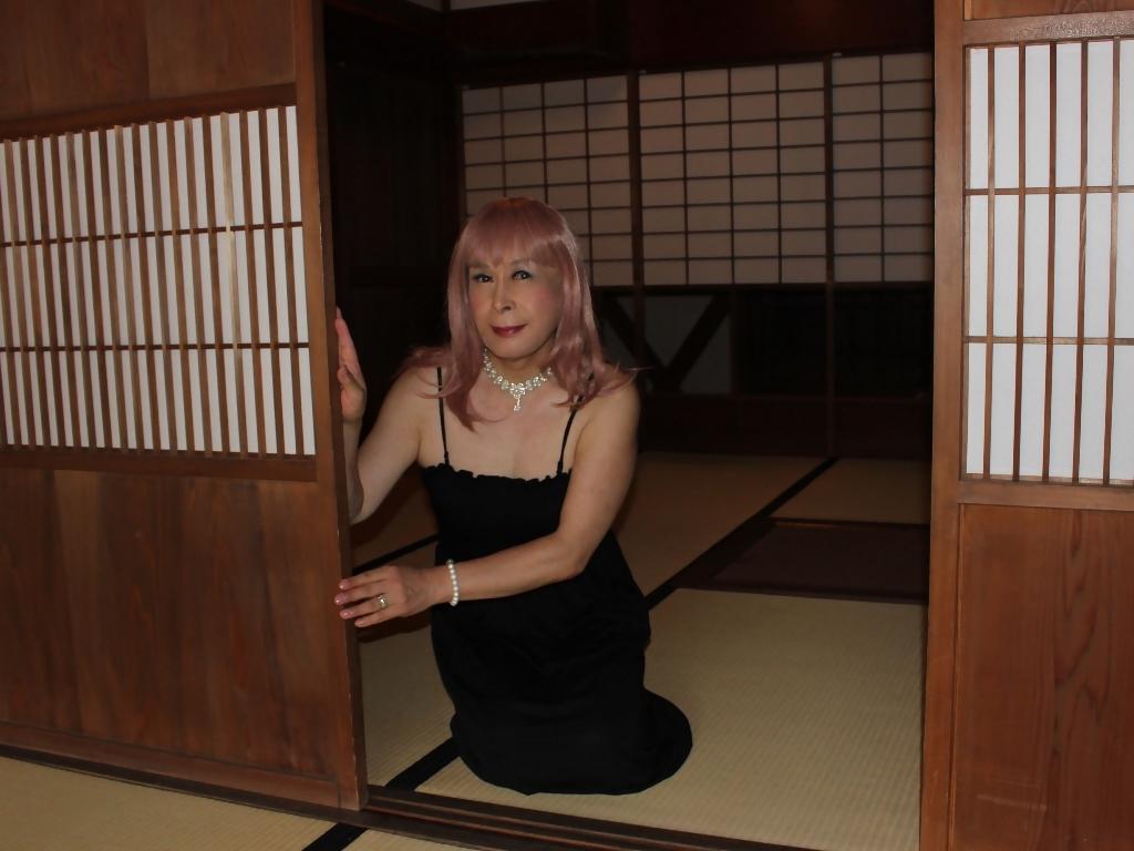 黒のマキシワンピE(5)
