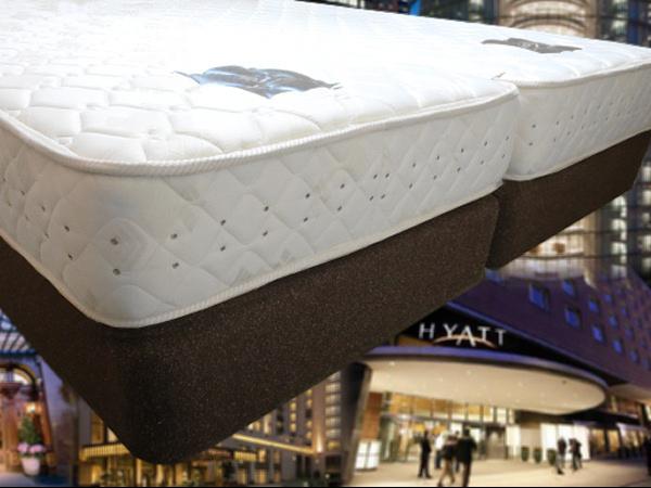 ベッドはサータのマットレス
