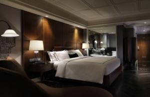 ホテルのベッドのサイズ