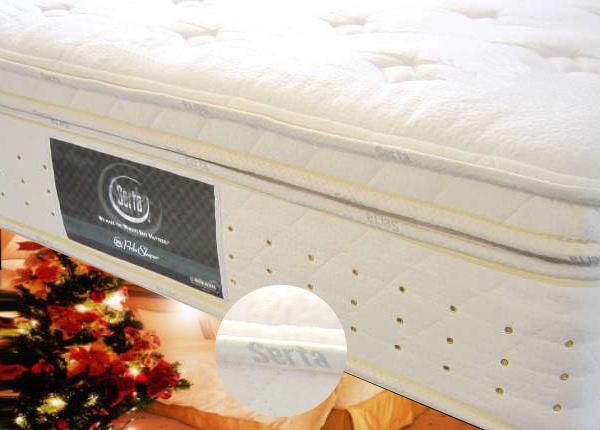 サータの最高級ホテル仕様ベッド