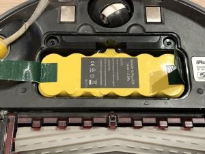 ルンバの互換品バッテリー収納時