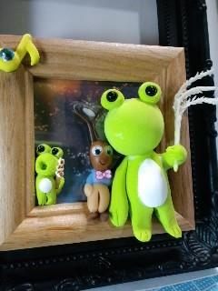 ワークショップ 蟋蟀と蛙の月見