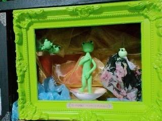 井蛙博物館第二展示室 ヴィーナスの誕生