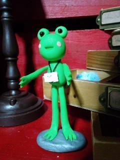井蛙博物館第二展示室 室長
