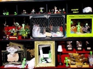 井蛙博物館第二展示室 全体
