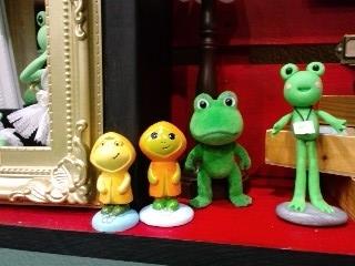 井蛙博物館第二展示室 蛙サミット!