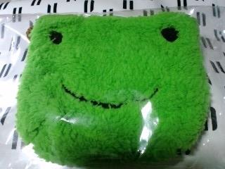 ふわふわ蛙ポシェット