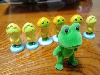 勢揃い 蛙サミット!
