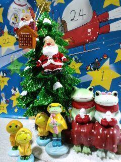カエルなクリスマス
