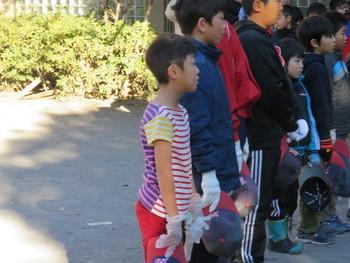 年内最終活動(町会清掃&野球納め)