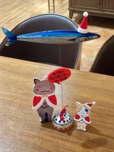 「夜廻り猫」のクリスマス 深谷かほる作品展-9