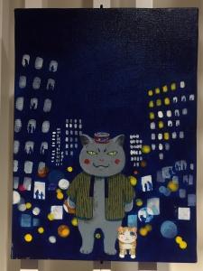 「夜廻り猫」のクリスマス 深谷かほる作品展-13