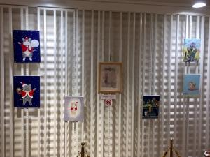 「夜廻り猫」のクリスマス 深谷かほる作品展-15