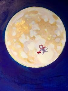 「夜廻り猫」のクリスマス 深谷かほる作品展-24
