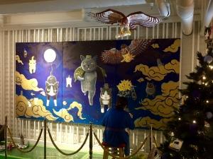 「夜廻り猫」のクリスマス 深谷かほる作品展-44