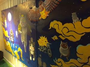 「夜廻り猫」のクリスマス 深谷かほる作品展-46