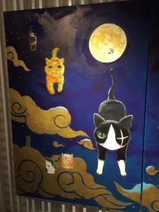 「夜廻り猫」のクリスマス 深谷かほる作品展-47
