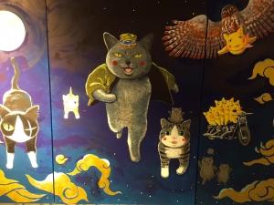 「夜廻り猫」のクリスマス 深谷かほる作品展-48