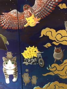 「夜廻り猫」のクリスマス 深谷かほる作品展-49