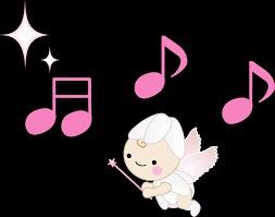天使と音符
