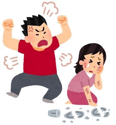暴力DV夫婦