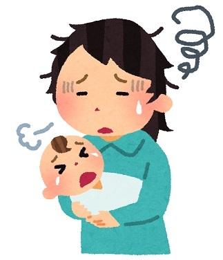 育児育休ノイローゼ乳児赤ちゃん