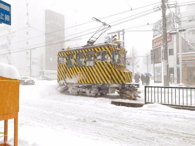 ササラ電車ささら市電札幌