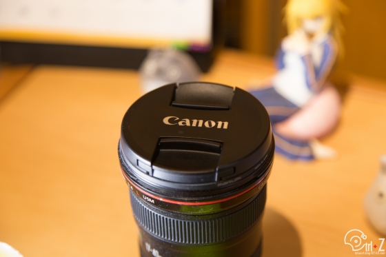 カメラ レンズキャップ 使用後