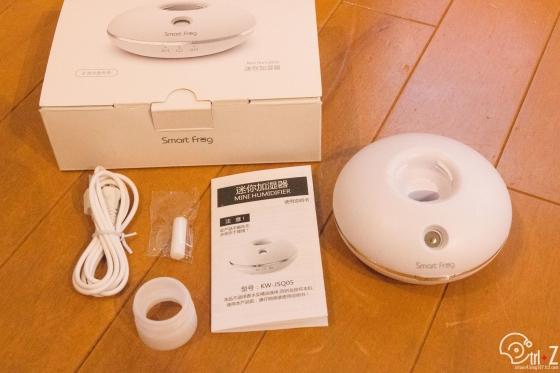 簡易加湿器 超音波式 ポータブル