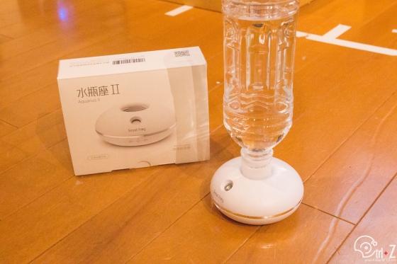 水瓶座Ⅱ 加湿器 簡易 ペットボトル