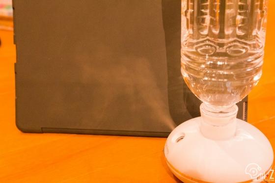 水瓶座 Ⅱ ペットボトル 簡易 ポータブル 加湿器