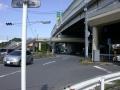 西新井宿951-1首都高と122号との合流部・川口ジャンクション南端(とん太前)