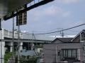 新井宿232-2 西新井宿交差点・首都高赤山方向側道から交差点越え川口ジャンクション方面を見る a