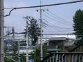 新井宿232-2 西新井宿交差点・首都高赤山方向側道から交差点越え川口ジャンクション方面を見る b