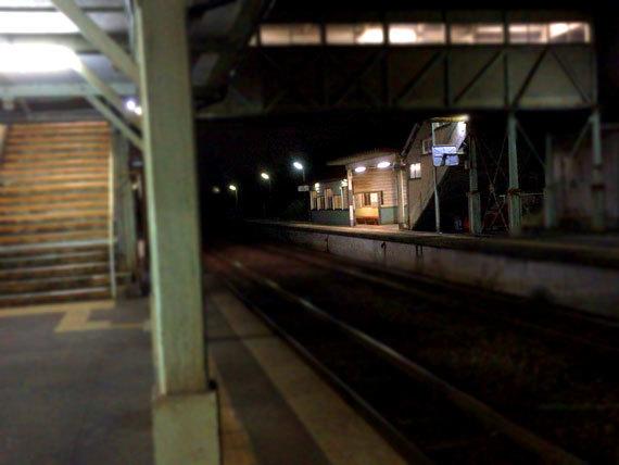 夜の駅_1