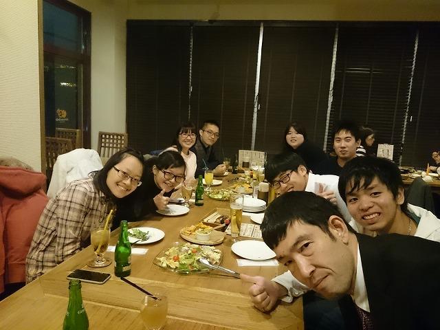 徳島文理大学イルミネーション 台湾の留学生