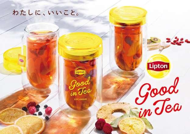「Lipton Good in Tea OMOTESANDO」