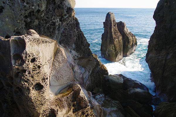 高知 室戸海岸 夫婦岩