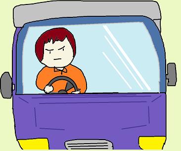 女子トラックドライバー