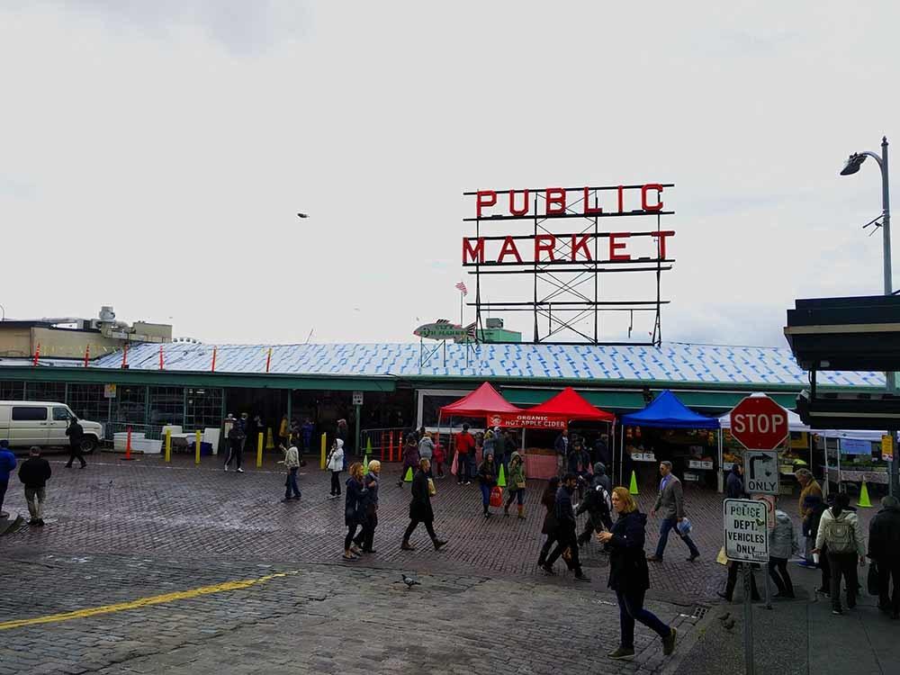 Seattle Pike Place シアトルパイクプレース