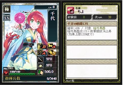 コラボ姫 千代