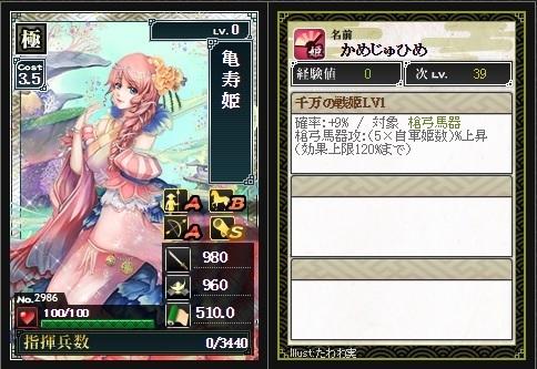 コラボ姫 亀寿