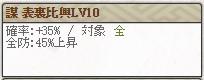 表裏Lv10