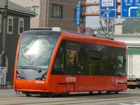 伊予鉄道・市内電車 5000形 4