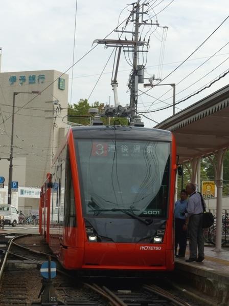 伊予鉄道・市内電車 5000形 5