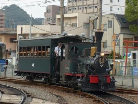 伊予鉄道・坊っちゃん列車 1