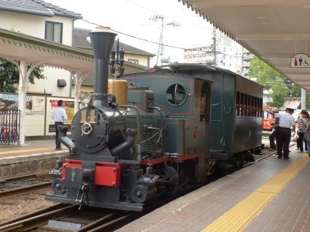 伊予鉄道・坊っちゃん列車 2